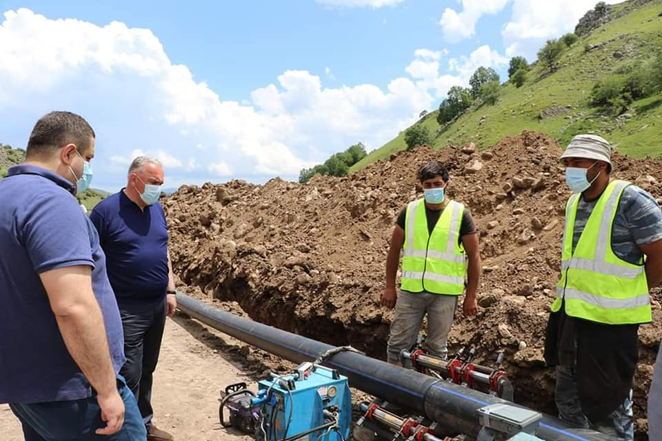 დმანისში წყალმომარაგების პროექტი ხორციელდება