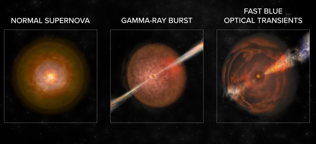 აღმოჩენილია სრულიად ახალი კლასის გიგანტური კოსმოსური აფეთქებები