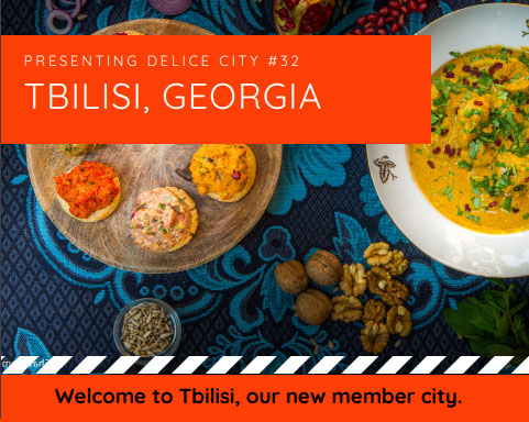 Tbilisi became a member of professional network of food and gastronomyof world cities