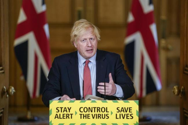 გაერთიანებული სამეფოს პრემიერ-მინისტრმა ქვეყანაში საყოველთაო კარანტინი გამოაცხადა