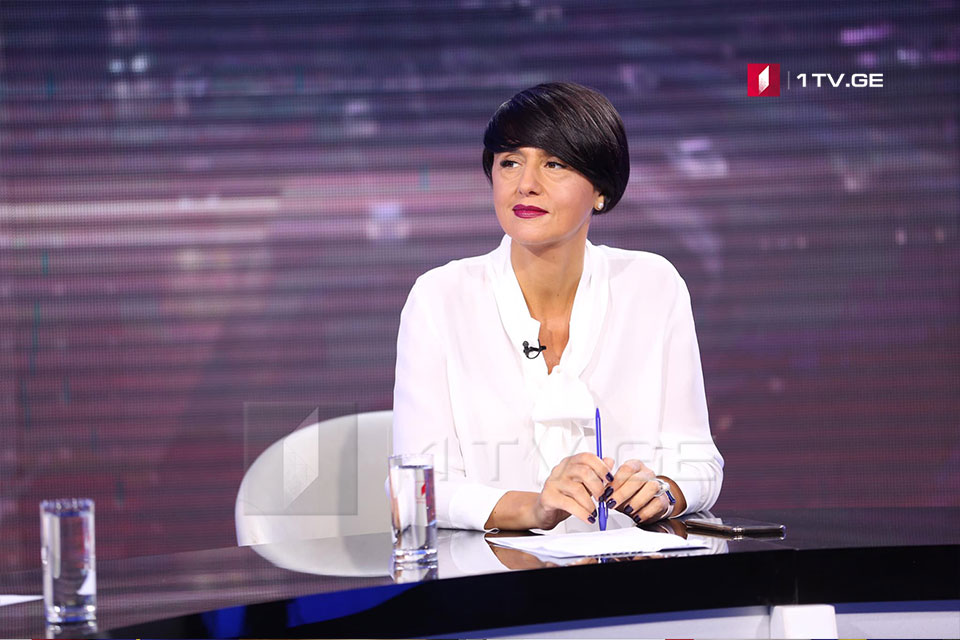 Tinatin Berdzenishvili: First Channel platforms enter emergency mode. We claim to deliver balanced election coverage, in line with int'l standards