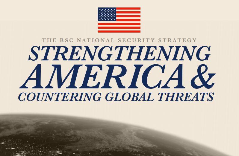 აშშ-ისრესპუბლიკელთა კვლევითმა კომიტეტმა ეროვნული უსაფრთხოების სტრატეგია გამოაქვეყნა, რომელშიც საქართველოზეც არის საუბარი