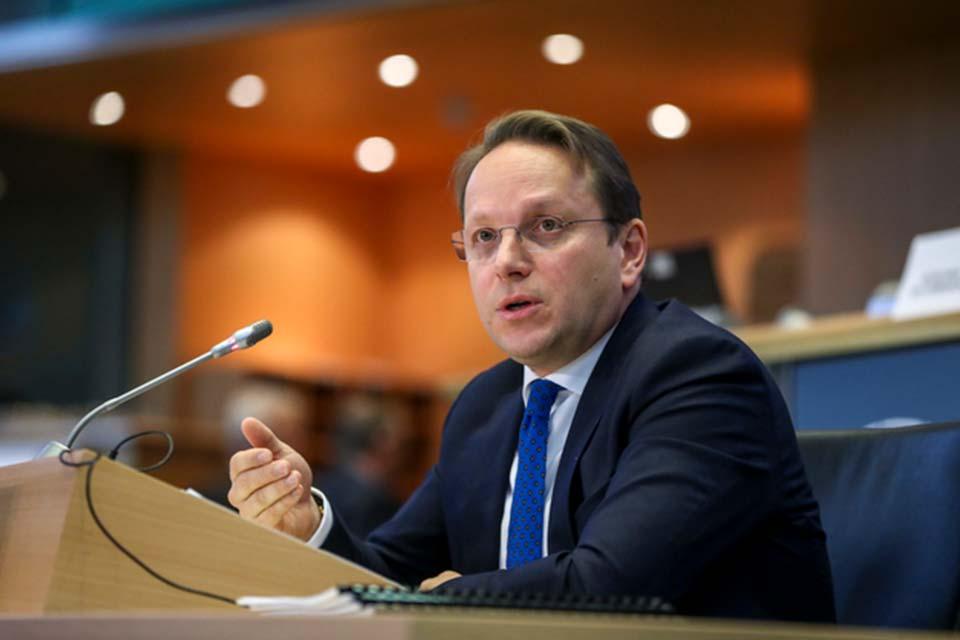 European Commissioner Varhelyi says EU stands by Georgia