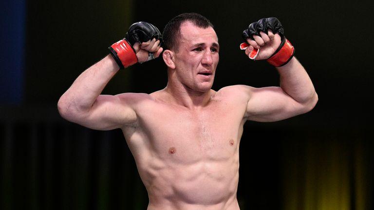 მერაბ დვალიშვილმა აბსოლუტურ საბრძოლო ჩემპიონატში (UFC) მეოთხე გამარჯვება მოიპოვა