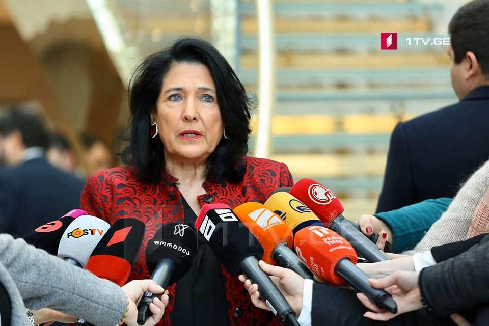 Саломе Зурабишвили - Мы должны активизировать МНЕС и работать над тем, чтобы расширить ареал ее действия