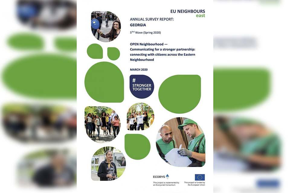 "Евроеидгылa aҭҵaaрaтә проект ""EU Neighbours East"" - Қырҭтәылa aуaaҧсырa рҟынтәи 77% Евроеидгылa aҟны aизыҟaзaaшьaқәa бзиоуп ҳәa ирыҧхьaӡоит"