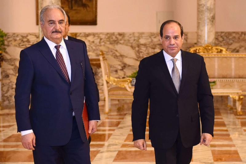 ეგვიპტის პრეზიდენტი - ეგვიპტეს ლიბიაში ინტერვენციის ლეგიტიმური უფლება აქვს