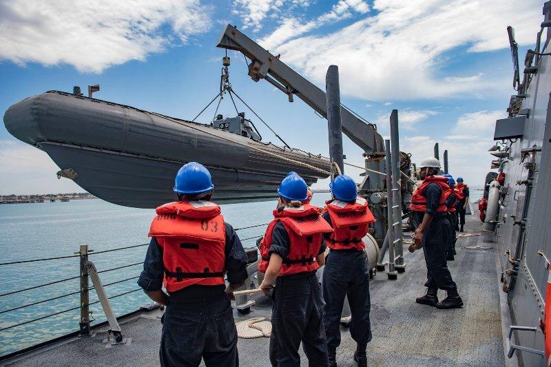 Բաթումիի նավահանգիստ է մուտք գործում ամերիկյան «Պորտեր» նավը