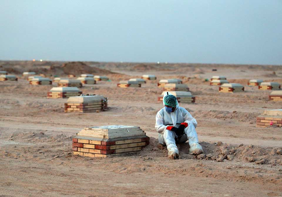 ერაყში კორონავირუსის 2 200 ახალი შემთხვევა გამოვლინდა