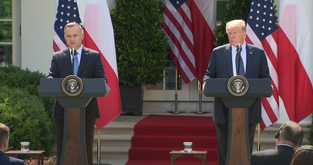 Andrzej Duda: Russia's imperial ambitions have been revived over the last tens of years, because Georgia was attacked in 2008