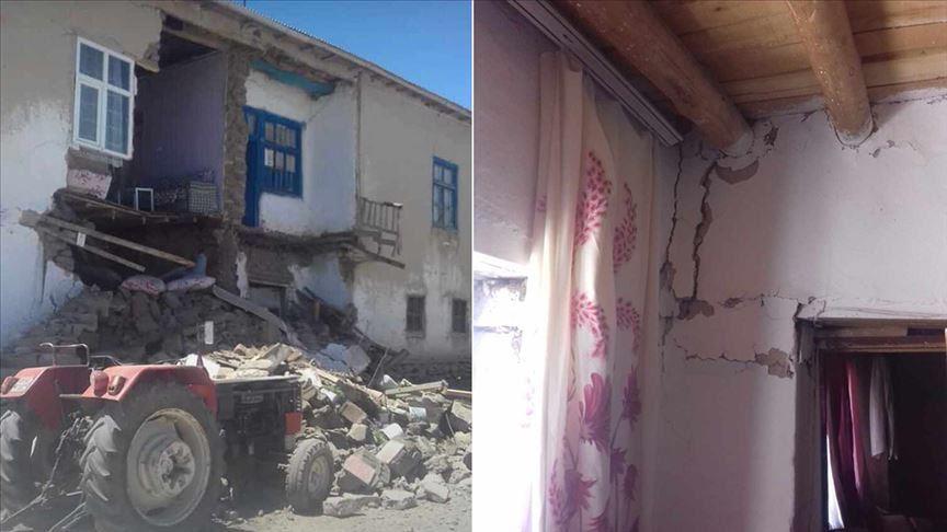 Թուրքիայում, Վանի գավառում տեղի է  ունեցել  երկրաշարժ