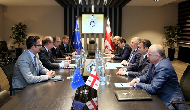 საქართველოში ევროკავშირის სადამკვირვებლო მისიის ხელმძღვანელი სახელმწიფო უსაფრთხოების სამსახურის უფროსს შეხვდა