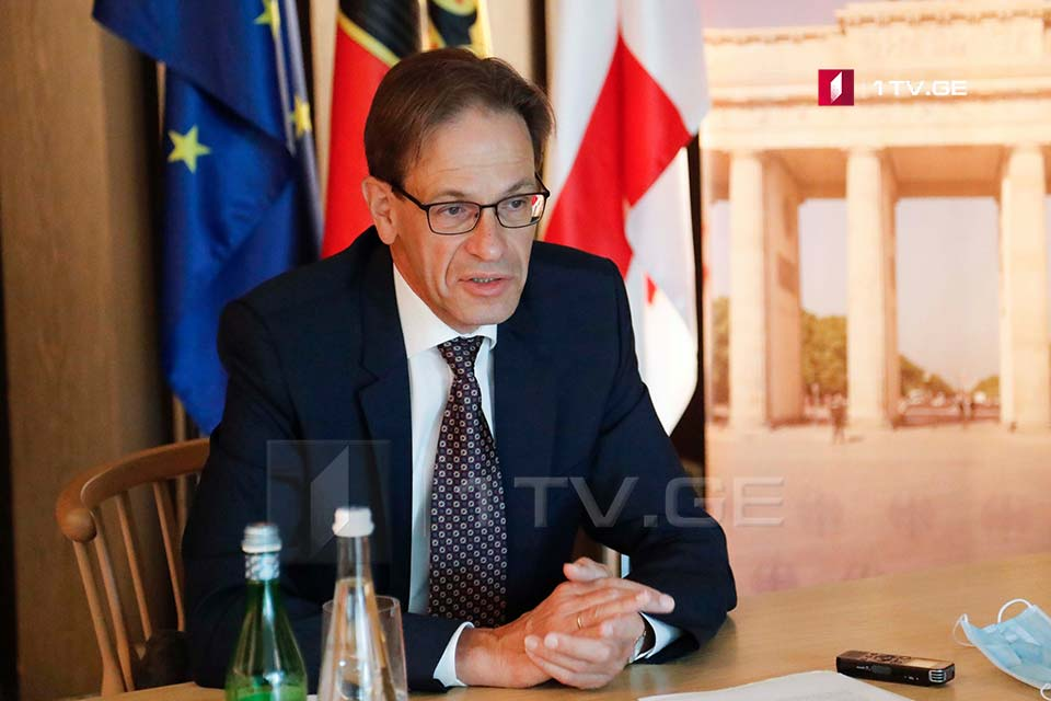 German Ambassador - Georgia has no time to lose. One cannot say that elections may be held in a better manner in the future and I will take part in the political process then