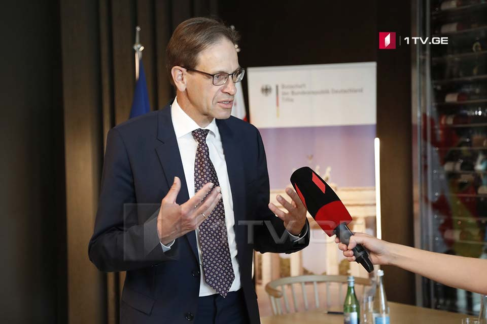 German Ambassador – Mr. Rurua is not mentioned in March 8 Agreement