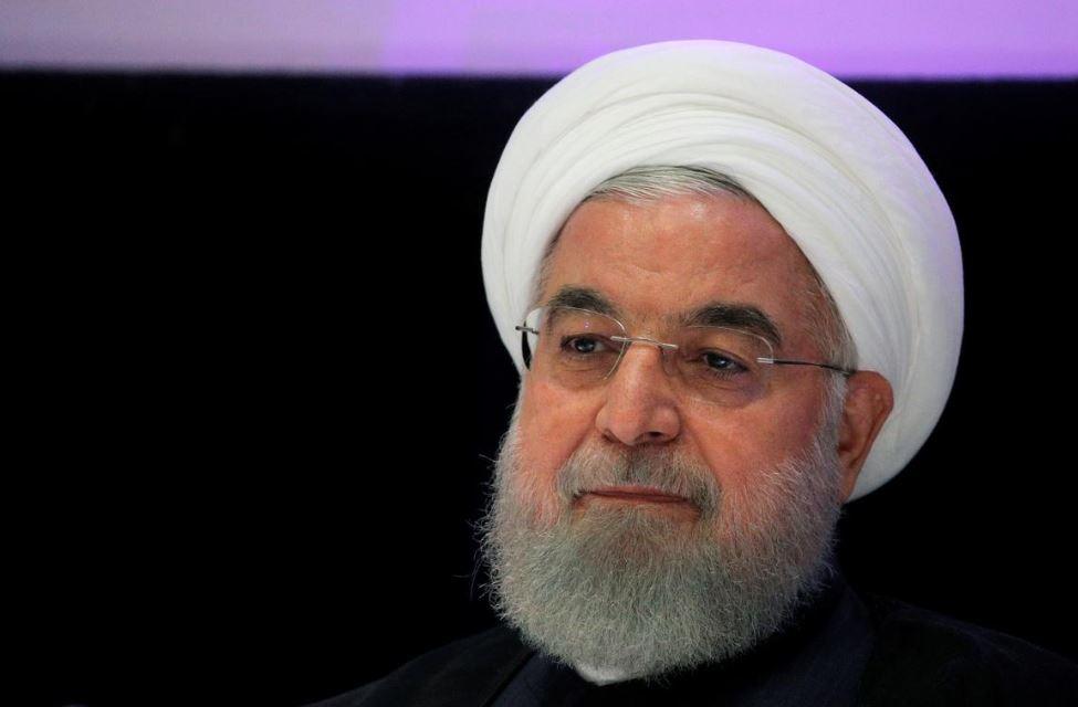 """Həsən Ruhani bəyan edir ki, ABŞ sanksiyaları və """"COVID-19"""" pandemiyası üzündən İranın ağır ili var"""
