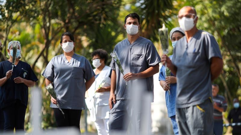 Վերջին 24 ժամում Բրազիլիայում գրանցվել է կորոնավիրուսով վարակման 30 476 նոր դեպք, մահացել է 552 մարդ