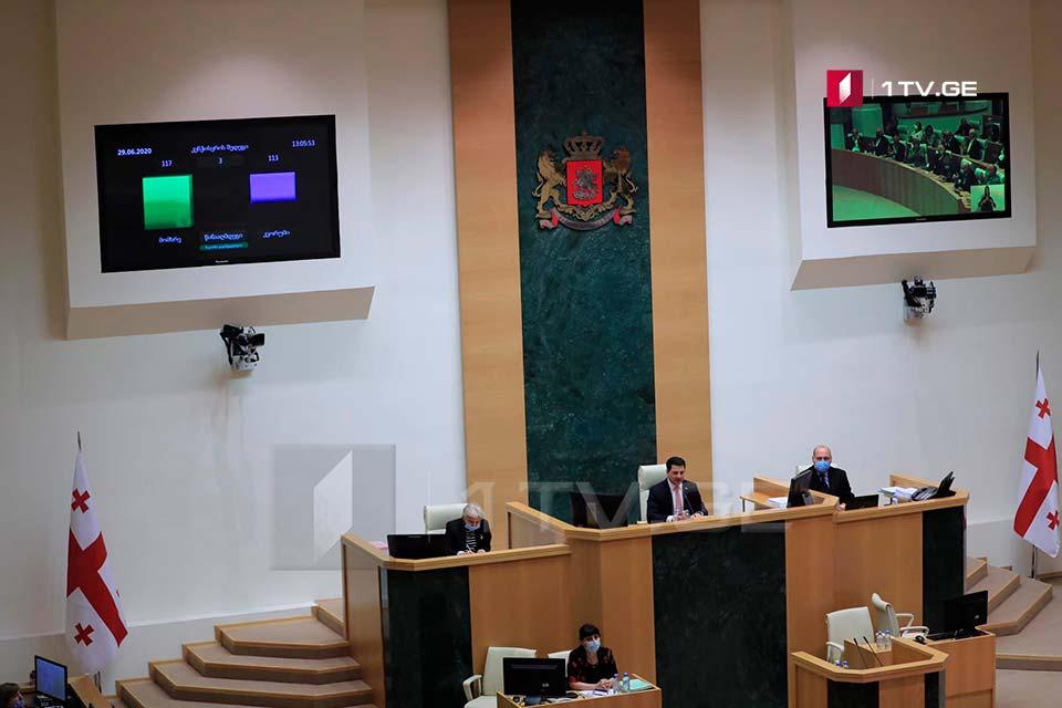 За конституционные изменения проголосовали 117 депутатов