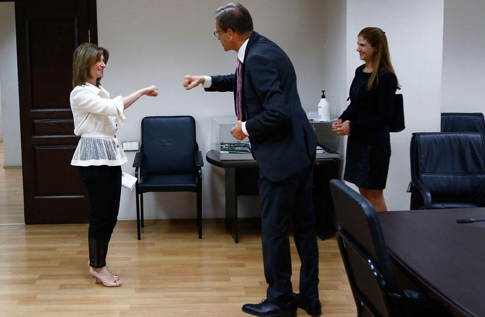ჯანდაცვის მინისტრ ეკატერინე ტიკარაძესა და გერმანიის ელჩს შორის შეხვედრა გაიმართა