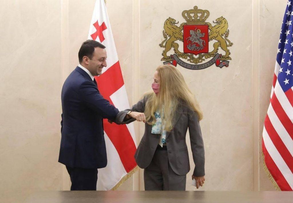 Ираклий Гарибашвили встретился с Келли Дегнан