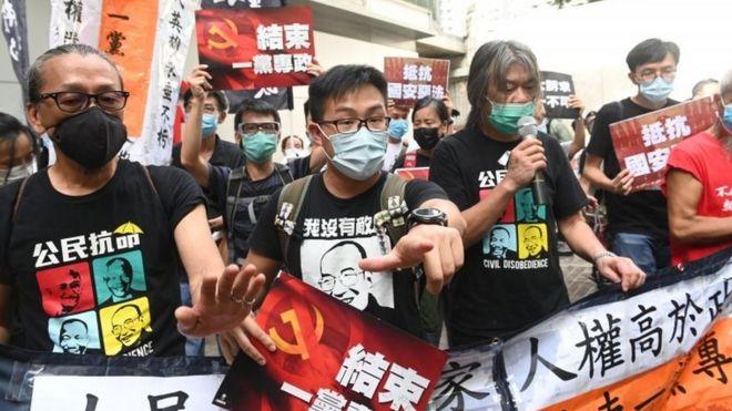 ჰონგ კონგში ჩინეთის ახალი ეროვნული უსაფრთხოების კანონის ამოქმედების შემდეგ, პირველი ადამიანი დააკავეს