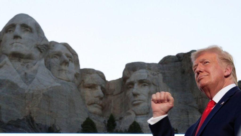 დონალდ ტრამპი - მემარცხენეებს აშშ-ის ისტორიის განადგურება სურთ