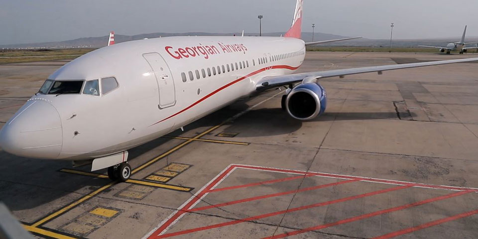 Charter flight from Amsterdam to Georgia carried out