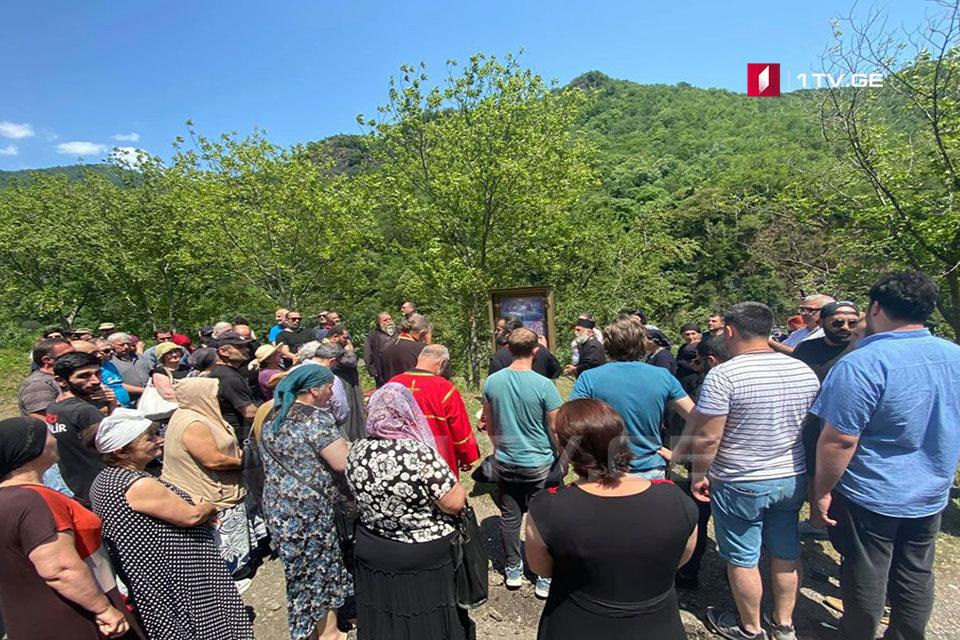Жители села Намохвани опротестовали строительство ГЭС