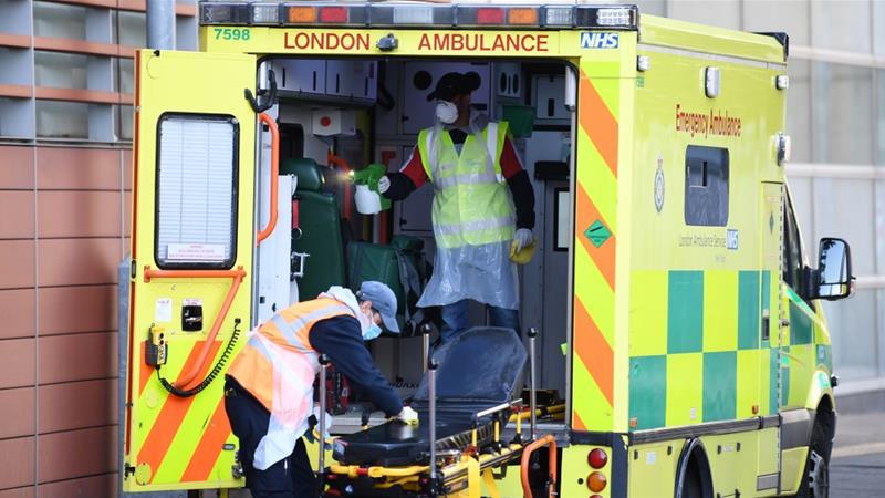 Britaniyada koronavirusdan vəfat edənlərin sayı 22 ilə artdı