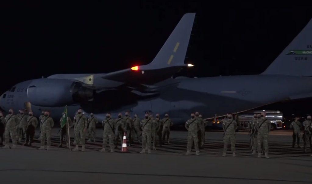 ქართველი მშვიდობისმყოფელები ავღანეთში სამშვიდობო მისიის შესასრულებლად გაემგზავრნენ