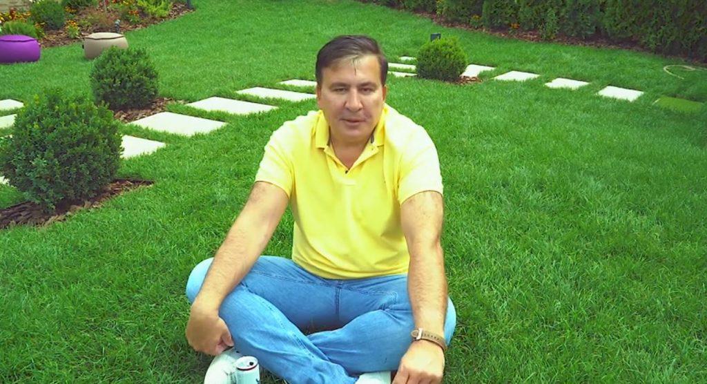 Михаил Саакашвили - Я буду держаться с вами за руки в октябре, нравится это кому-то, или нет