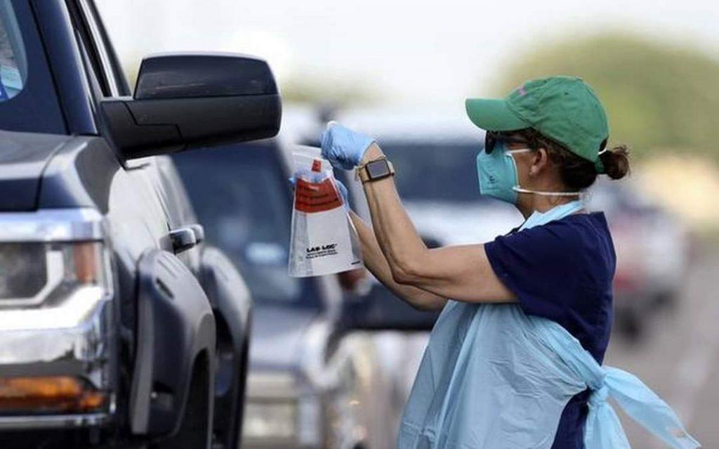 აშშ-ში გასულ დღე-ღამეში კორონავირუსის რეკორდული, 60 500 შემთხვევა გამოვლინდა