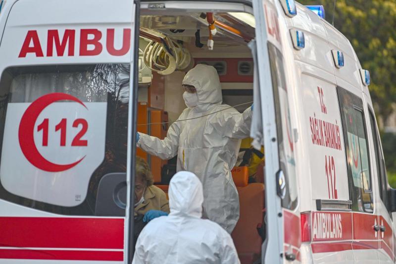 თურქეთში კორონავირუსის 967 ახალი შემთხვევა დაფიქსირდა, 15 პაციენტი გარდაიცვალა