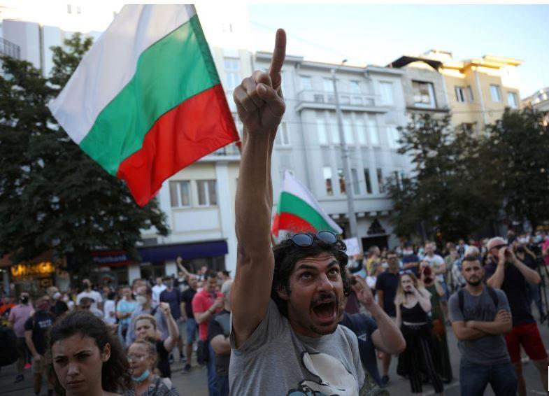 ბულგარეთში საპროტესტო აქციაზე 18 პირი დააკავეს
