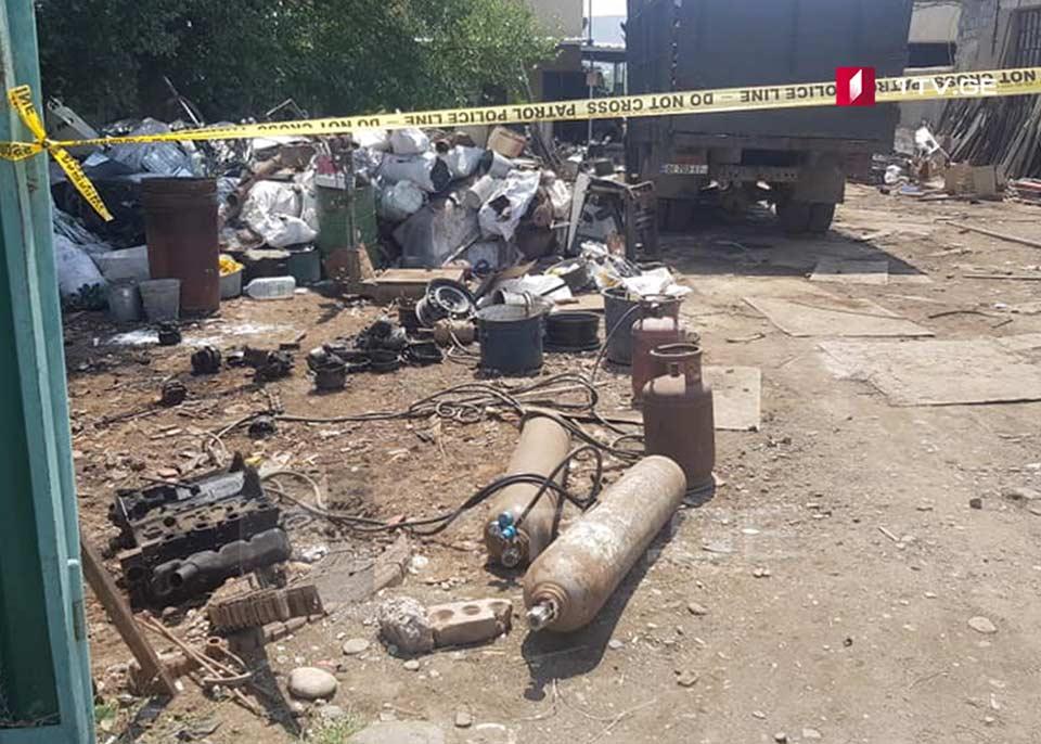 Мужчина погиб в результате взрыва на пункте приема металлолома в Рустави