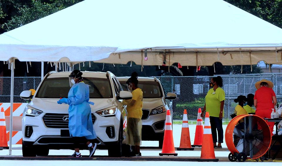 აშშ-ის ფლორიდის შტატში ბოლო დღე-ღამეში კორონავირუსის 15 300 შემთხვევა დაფიქსირდა, გარდაიცვალა 45 პაციენტი