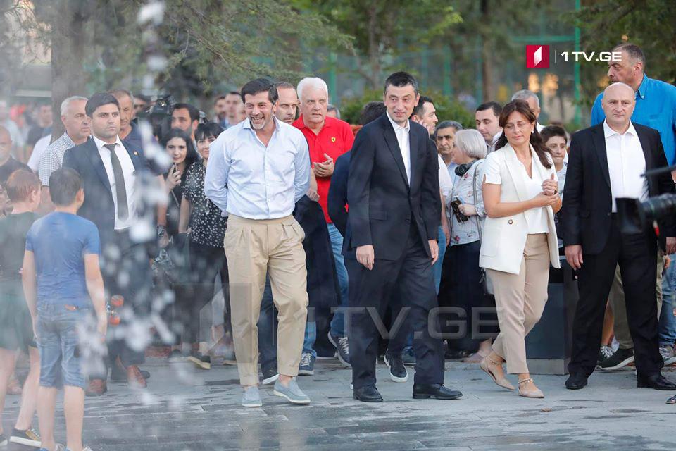 თბილისში კიკვიძის განახლებული პარკი გაიხსნა [ფოტო]