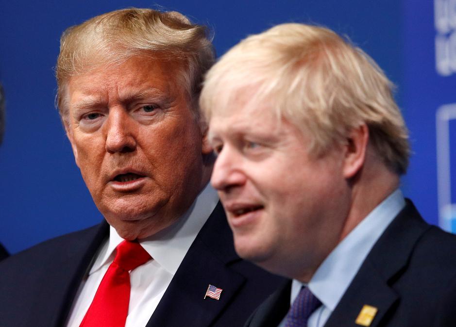 """დონალდ ტრამპი აცხადებს, რომ ბრიტანეთმა """"ჰუავეისთან"""" თანამშრომლობა მის გამო შეწყვიტა"""