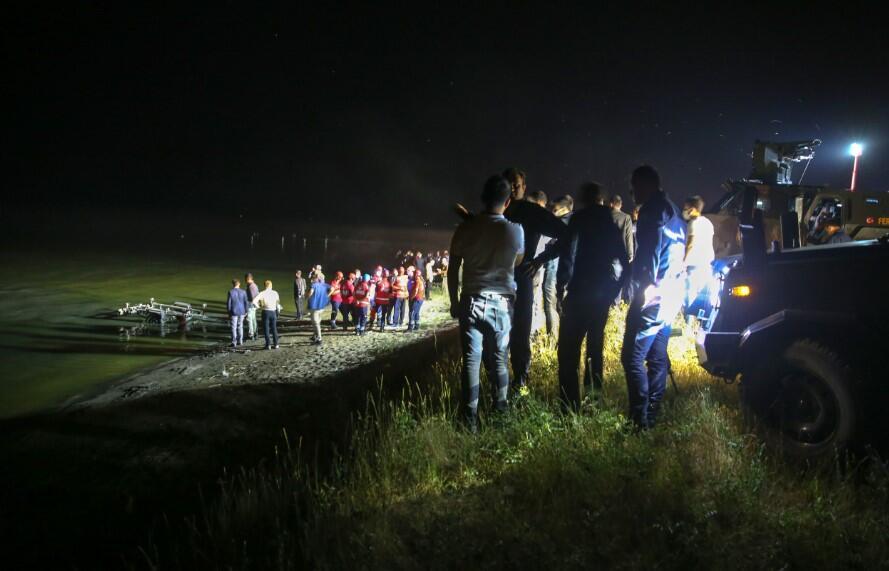 თურქეთში სადაზვერვო თვითმფრინავი ჩამოვარდა, დაღუპულია შვიდი ადამიანი