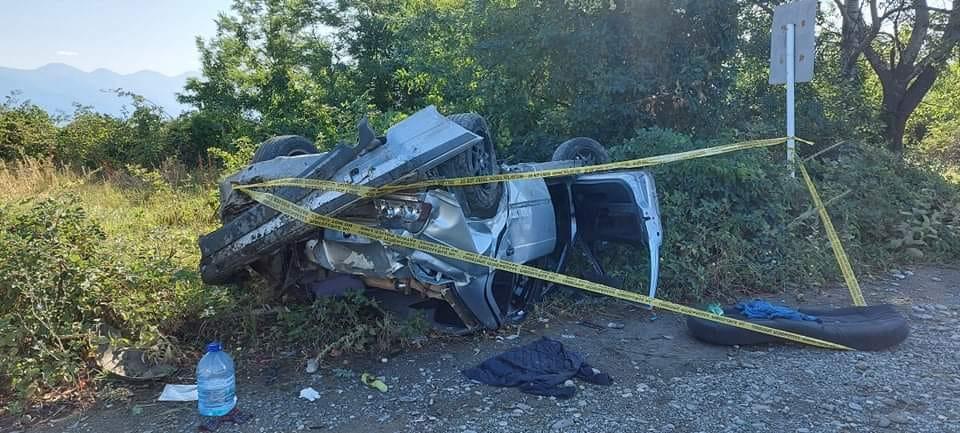 სოფელ კისისხევთან ავარიის შედეგად ხუთი ადამიანი დაშავდა