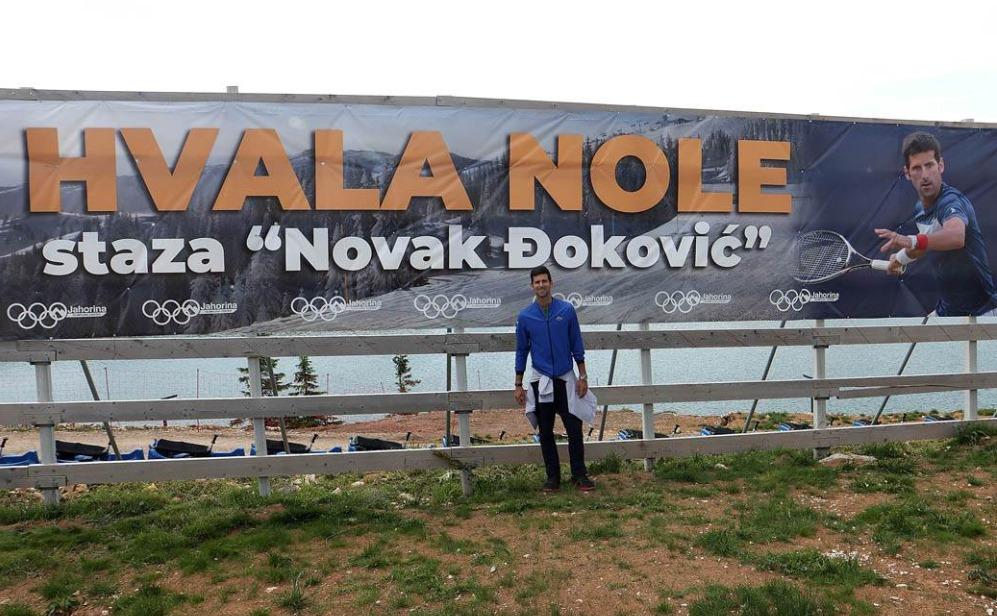 ნოვაკ ჯოკოვიჩს ზამთრის კურორტზე 400 კვადრატული მეტრი მიწა აჩუქეს