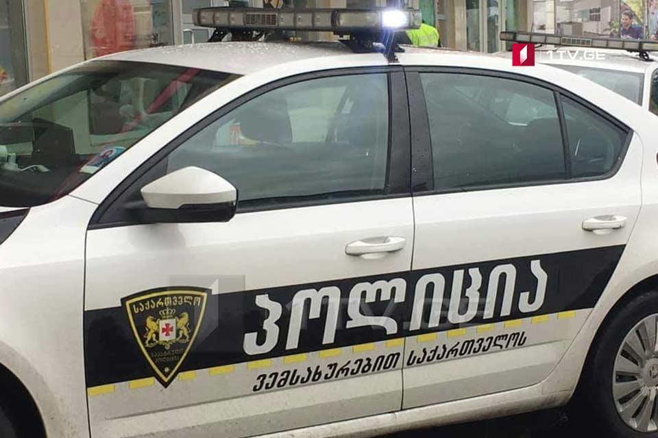 Polis Tbilisidə qəsdən qətl ittihamı ilə bir nəfəri yaxaladı