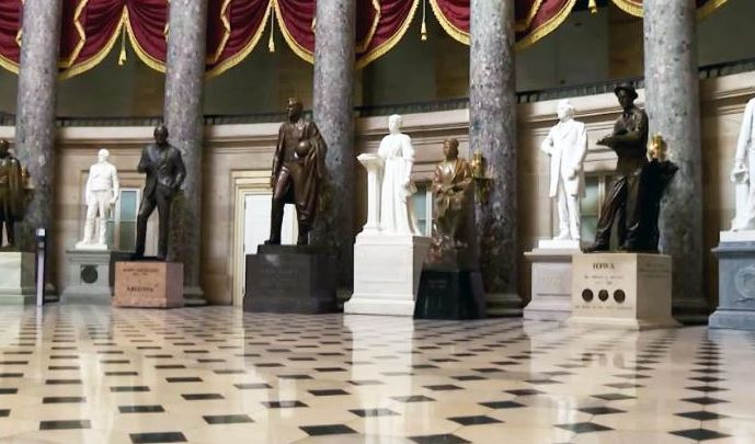 Палата представителей США одобрила законопроект о демонтаже памятников Конфедерации в здании Капитолия