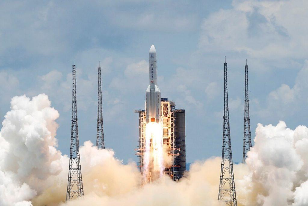 """ჩინეთმა მარსზე მავალი გაუშვა — """"ტიანვენ-1"""" წითელი პლანეტის ქანებს შეისწავლის #1tvმეცნიერება"""