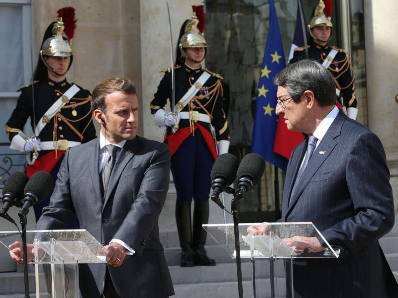 ემანუელ მაკრონი - საფრანგეთი სრულად უჭერს მხარს კვიპროსსა და საბერძნეთს მაშინ, როდესაც თურქეთი მათ სუვერენიტეტს არღვევს
