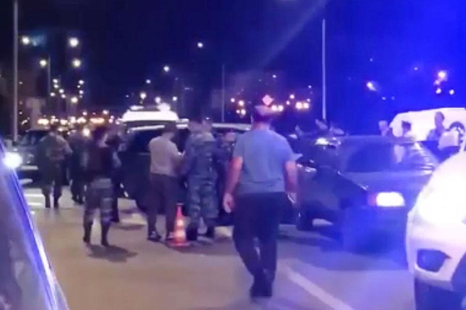 მოსკოვის პოლიციამ სომხური და აზერბაიჯანული დიასპორის წარმომადგენელთა ჩხუბის ფაქტზე 25 ადამიანი დააკავა