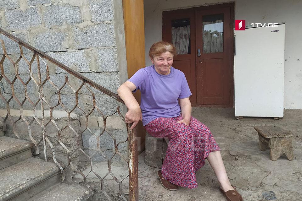 Мать Зазы Гахеладзе - Нам позвонили из СГБ и сказали, что моего сына перевели из Цхинвальской больницы в изолятор временного содержания, и его состояние здоровья улучшилось