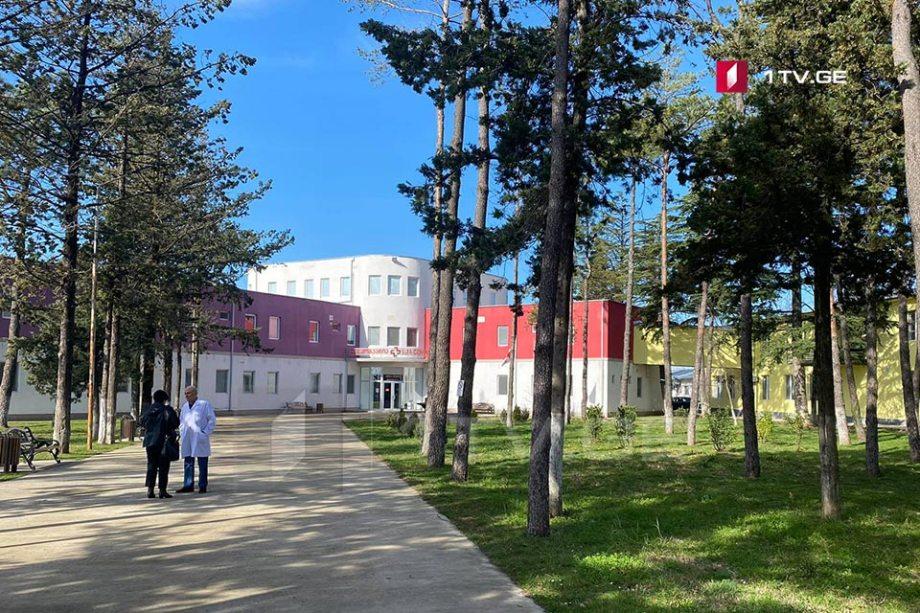 Kutaisi İnfeksiya Xəstəxanasında koronavirusdan daha iki pasiyent müalicə olundu
