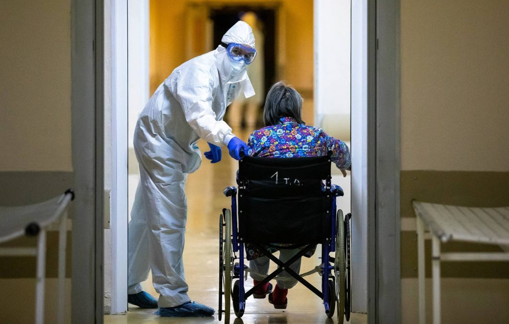 Rusiyada son 24 saat ərzində koronavirusun 5 635 halı aşkar edildi