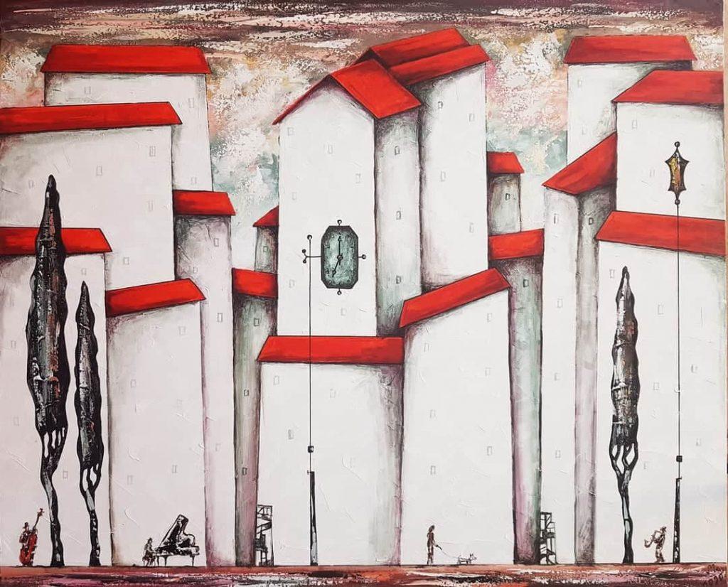 """მხატვარ მარიამ ოსეფაშვილის ნამუშევრების გამოფენა-გაყიდვა """"ოლდ ტერასაზე"""" 28 ივლისს გაიხსნება"""