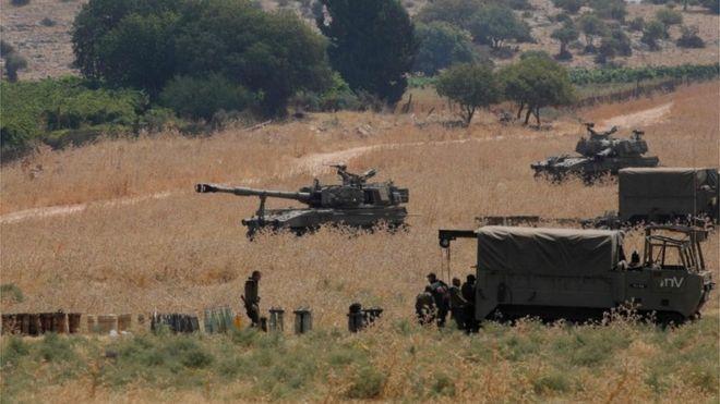 BBC - İsrail-Livan sərhədində insident baş verdi